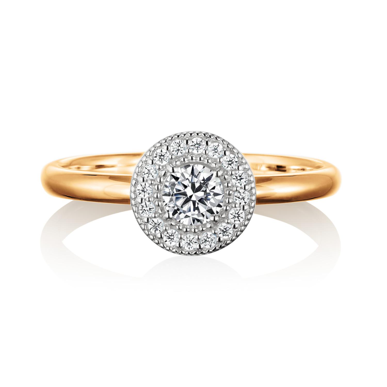 エンゲージリング 婚約指輪 adorer 【アドレ】-大好き- MT315AB-2