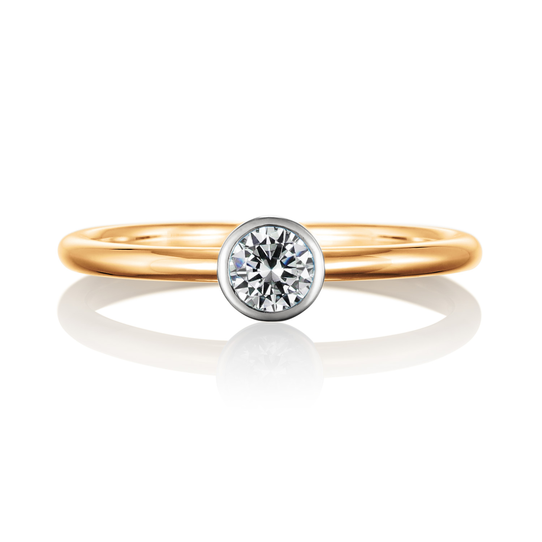 エンゲージリング 婚約指輪 coeur 【クー】-心- MT316AB-2