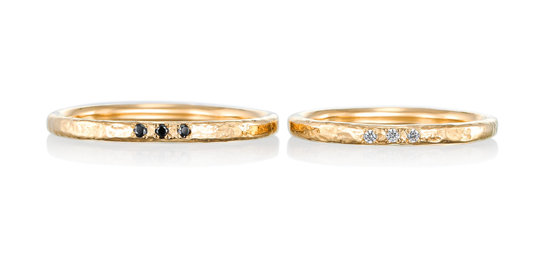 マリッジリング 結婚指輪 amusant 【アミュザン】-楽しい- MJ-59-60