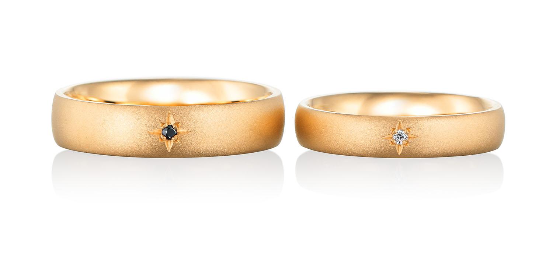 マリッジリング 結婚指輪 etoile 【エトワル】-星- MJ-13-14