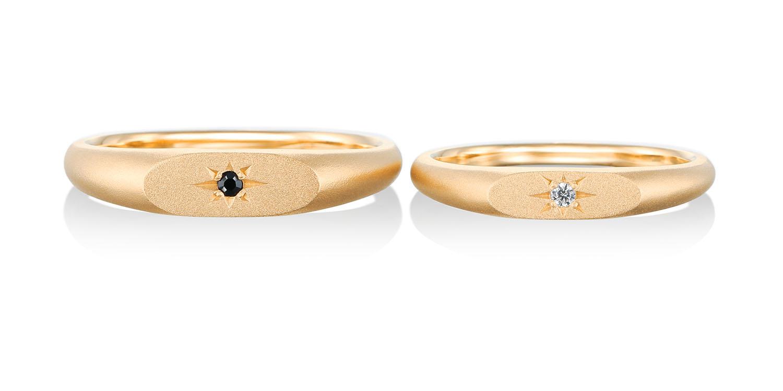 マリッジリング 結婚指輪 étoile 【エトワール】-星- MJ-77-78