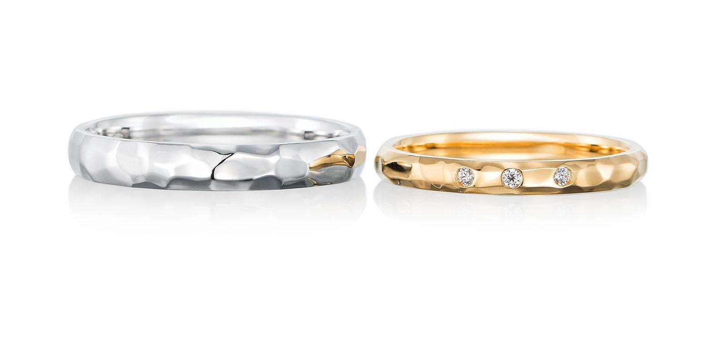マリッジリング 結婚指輪 gentillesse 【ジョンティエス】-優しさ- MJ-35-36