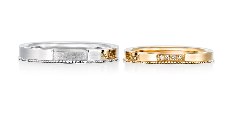 マリッジリング 結婚指輪 le_pont 【ルポン】-橋- MJ-47-48