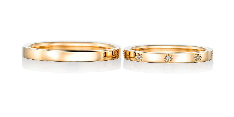 マリッジリング 結婚指輪 lumineux 【リミュヌー】-輝き- MJ-65-66
