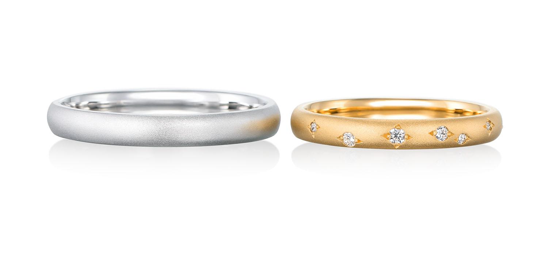 マリッジリング 結婚指輪 météore 【メテオール】-流れ星- MJ-25-26