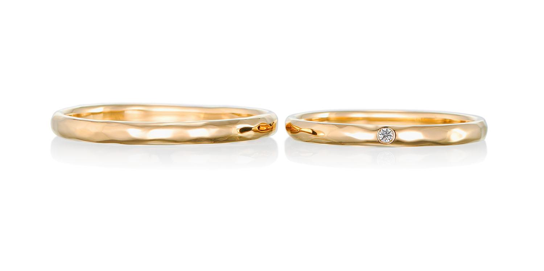 マリッジリング 結婚指輪 pureté 【ピュルテ】-純粋な- MJ-73-74