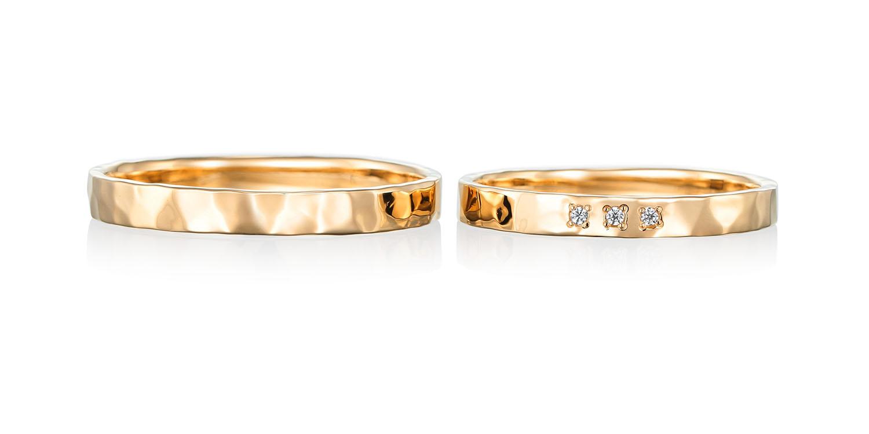 マリッジリング 結婚指輪 sympa 【サンパ】-気分が良い- MJ-17-18