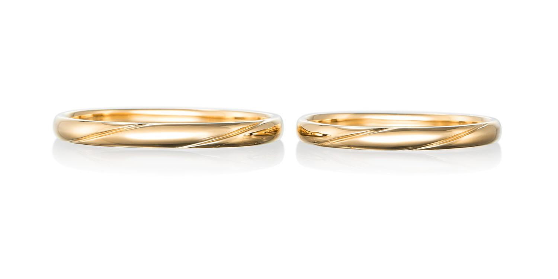 マリッジリング 結婚指輪 vague 【ヴァーグ】-波- MJ-67-68