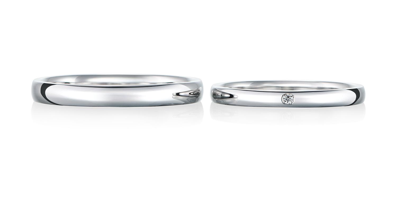 マリッジリング 結婚指輪 ensemble 【アンサンブル】-一緒に- MJ-85-86